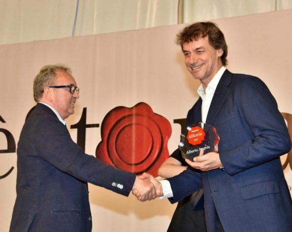 Premio èStoria ad Alberto Angela