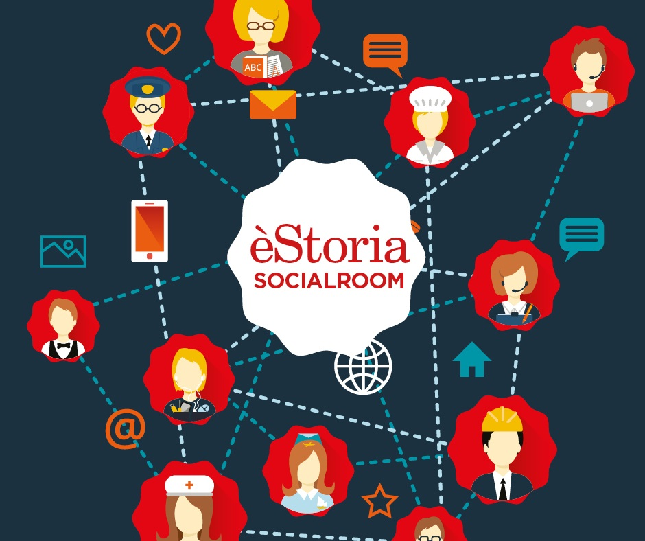 estoria social room